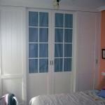 Armario dormitorio principal hecho a medida en Sevilla